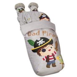 Saco Silla Impermeable con Manoplas y  Cubre Arnés Bad Pirate