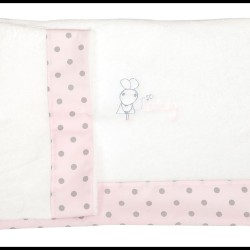 Juego de sábanas de cuna 60 x 120 Coralina Lovely