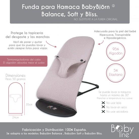 Funda Hamaca Babyjörn Confeti Blanco