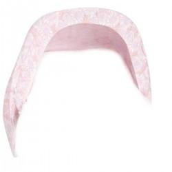 Capota de portabebe madeira rosa
