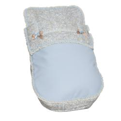 Saco de silla Caramelo azul