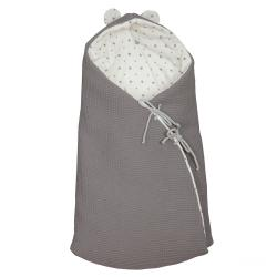 Saco de Cuco Little Star Gris