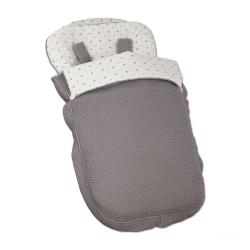 Saco Silla Little Star Gris