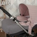 Colcha Bugaboo Little Star Rosa